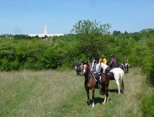 Randonnée à Douaumont